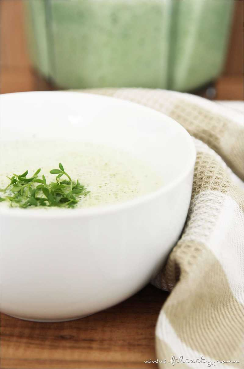 Rezept Spargelcremesuppe aus dem Mixer