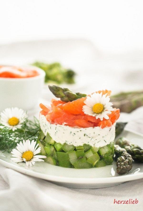 Rezept Spargelsalat mit Forelle