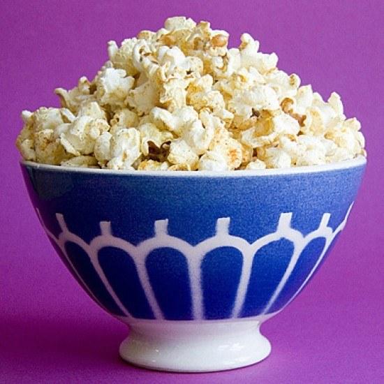 Rezept Spicy Popcorn