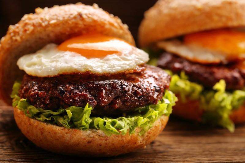 Rezept Spiegelei-Burger
