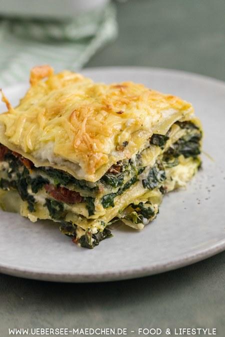 Rezept Spinat-Lasagne mit Feta besser als beim Griechen