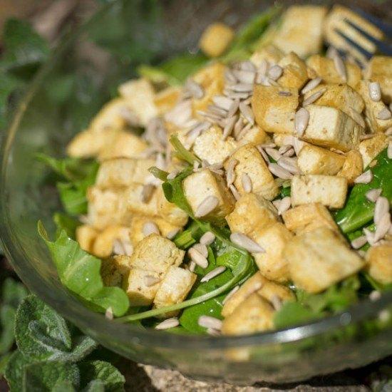 Rezept Spinat-Rauke Salat