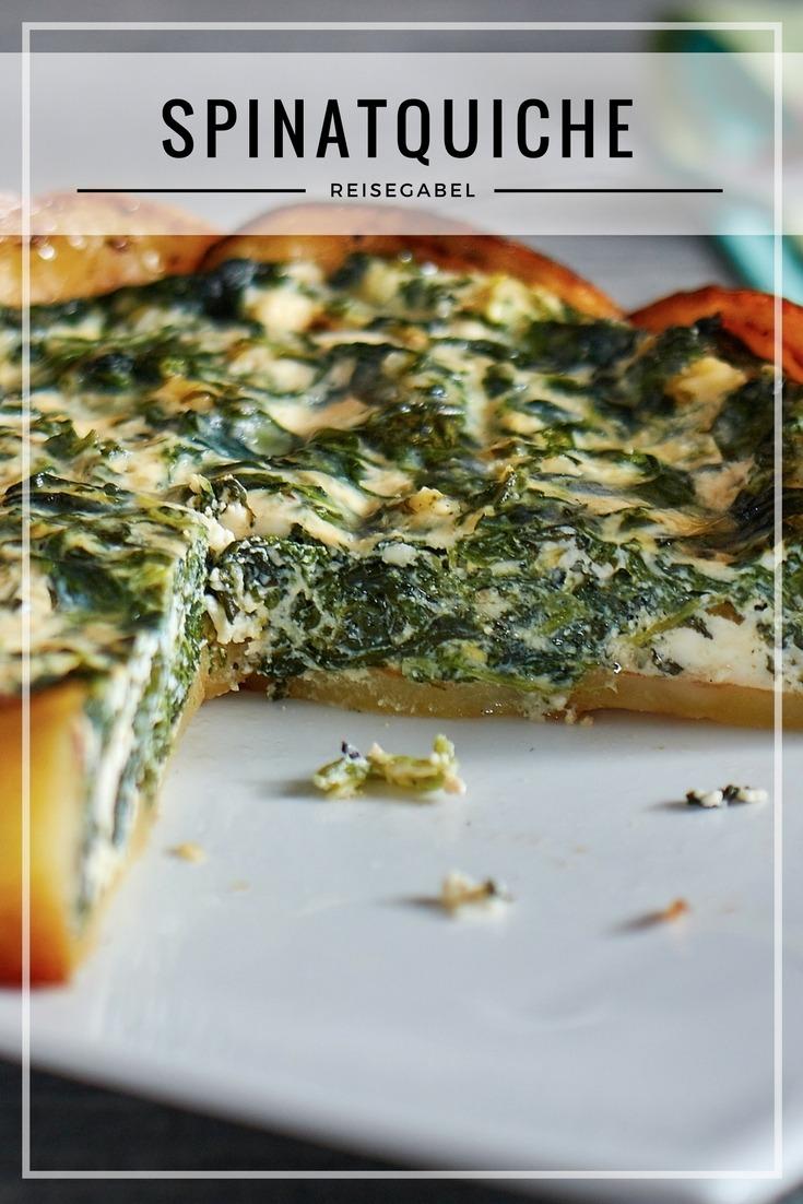 Rezept Spinatquiche mit Ricotta