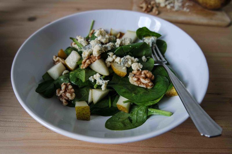Rezept Spinatsalat