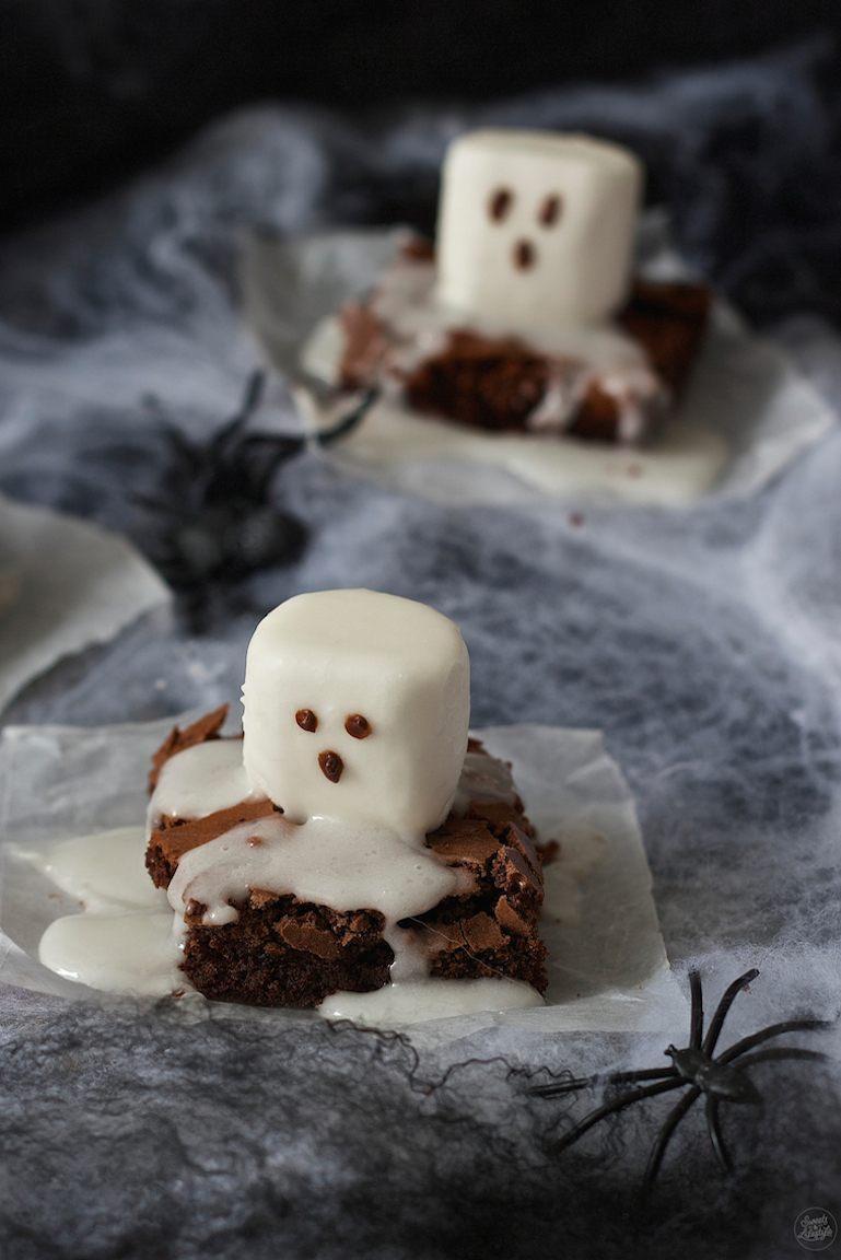 Rezept Spooky Boo Brownies
