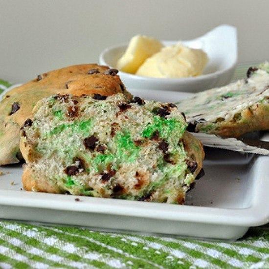 Rezept St. Patrick's Day Scones