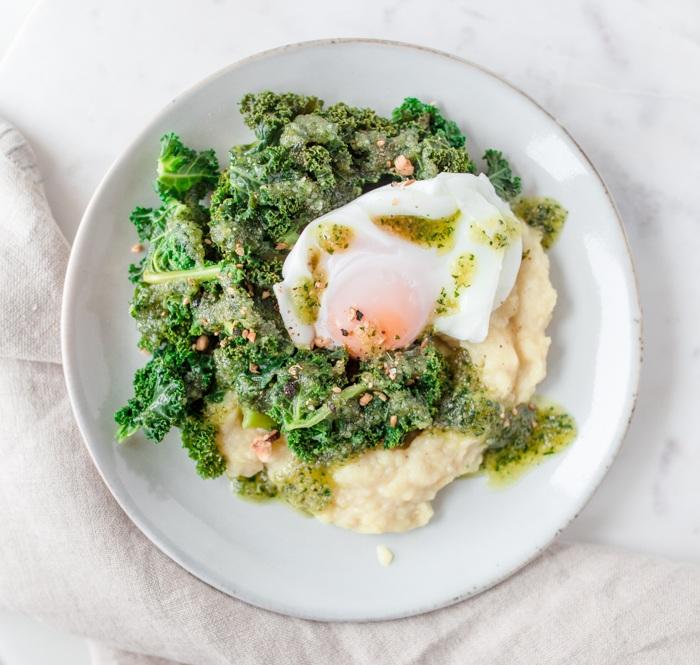 Rezept Stampf mit Kale und Ei