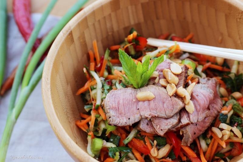 Rezept Steak-Salat Thai Style
