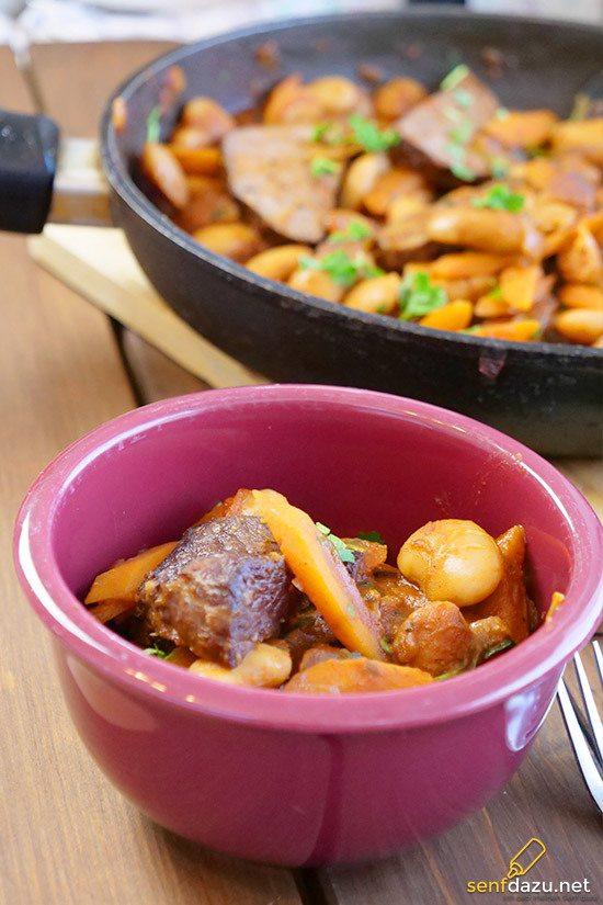 Rezept Steakpfanne