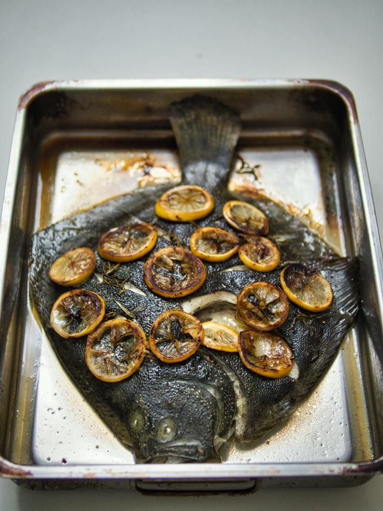 Rezept Steinbutt aus dem Ofen