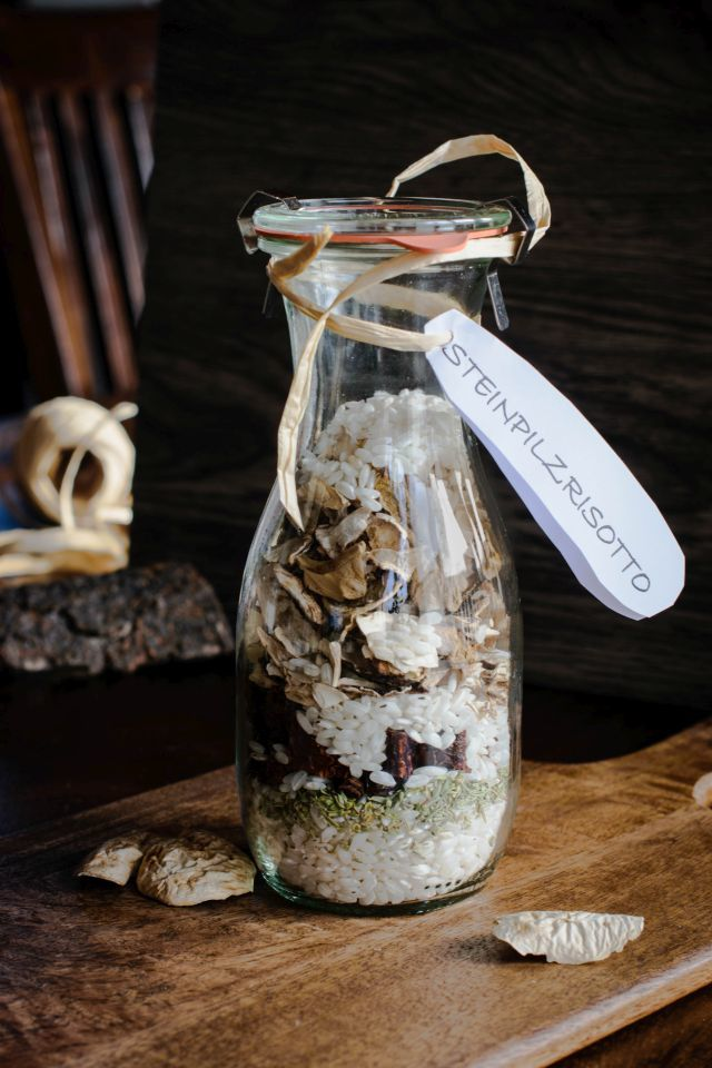 Rezept Steinpilzrisotto im Glas