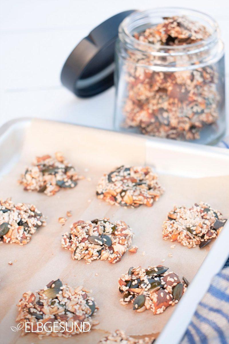 Rezept Steinzeit-Kekse – zum gesunden Knabbern