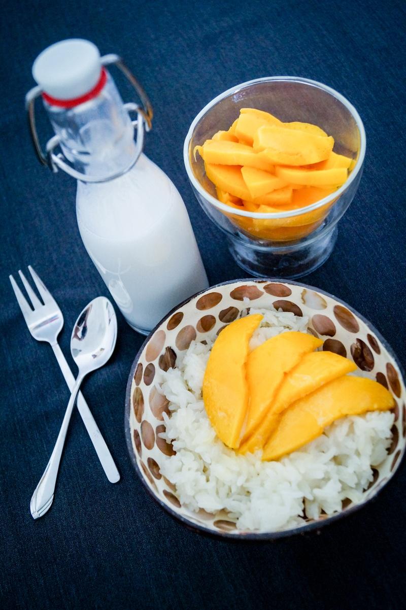Rezept Sticky Rice mit Mango