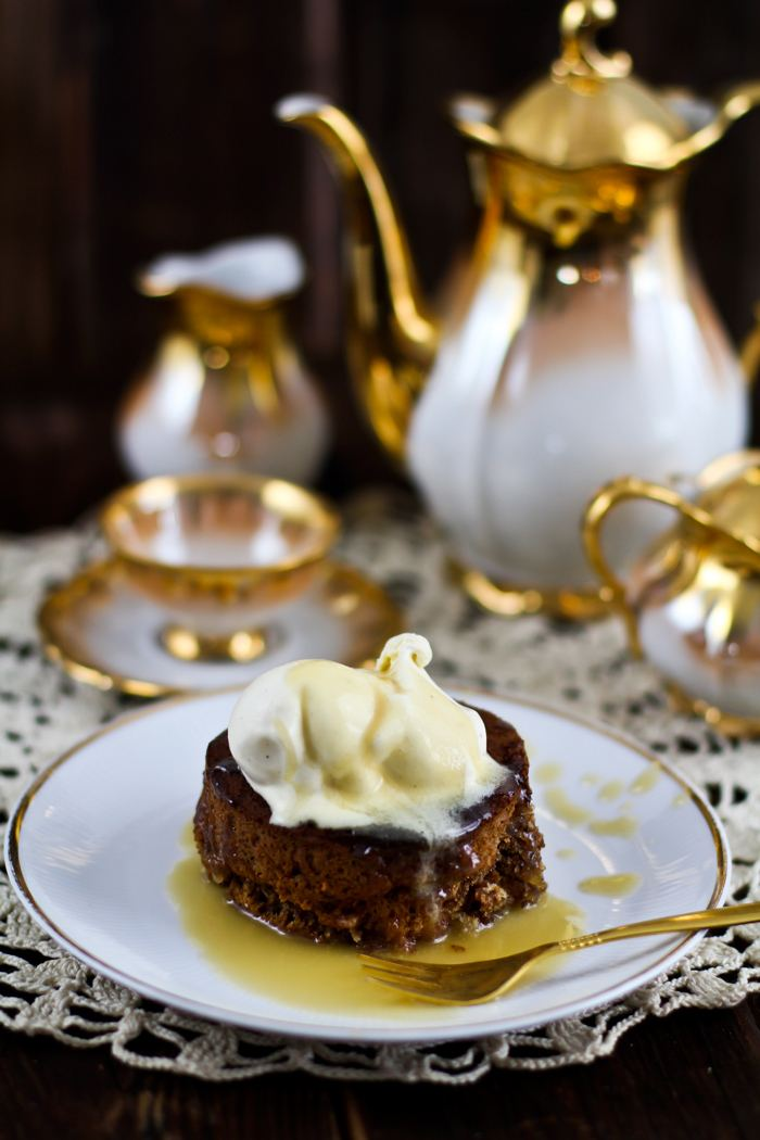 Rezept Sticky Toffee Pudding aus England