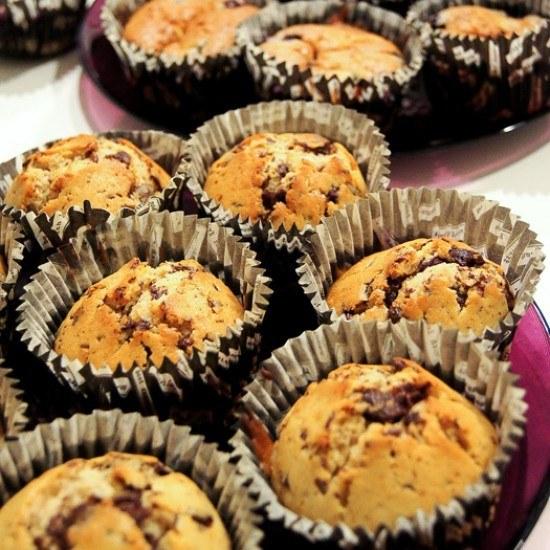 Rezept Stracciatella-Muffins