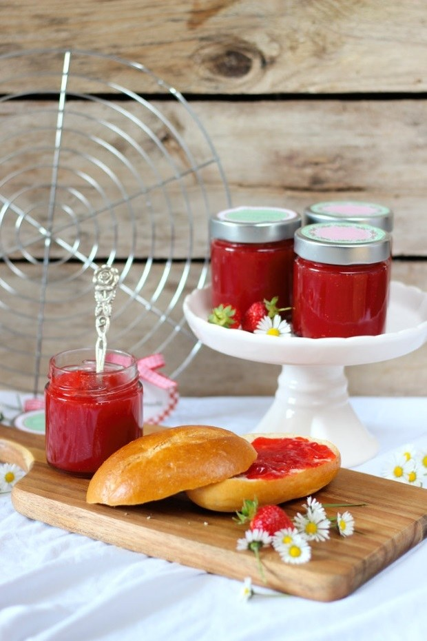 Rezept Strawberry-Daiquiri Marmelade