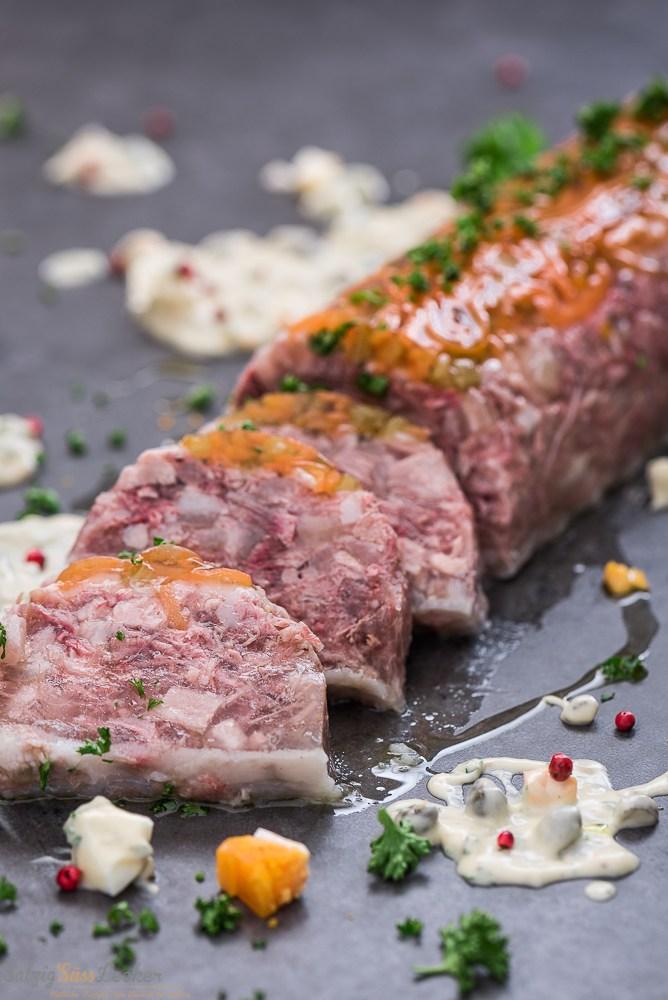 Rezept Sülze vom Bunten Bentheimer Schwein