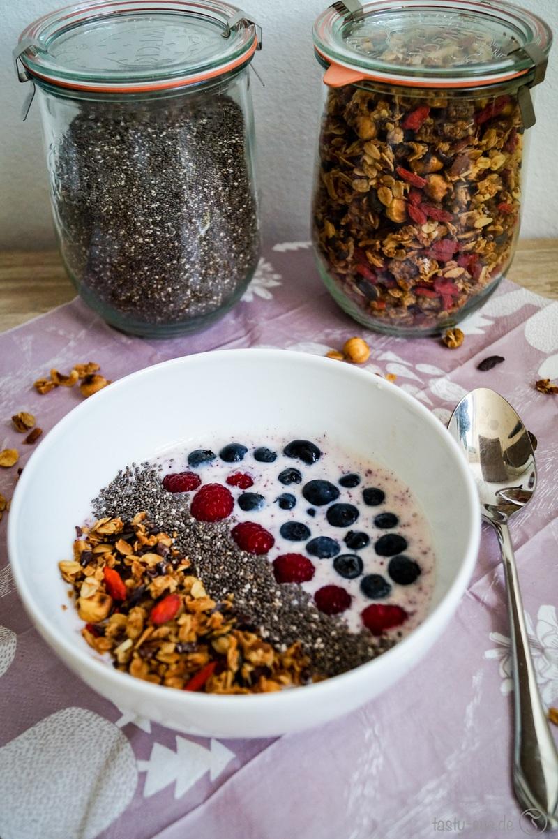 Rezept  Superfood Frühstück – vegan, gesund und lecker
