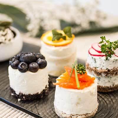 Rezept Sushi 2.0 - süße und herzhafte Törtchen zur Hochzeit