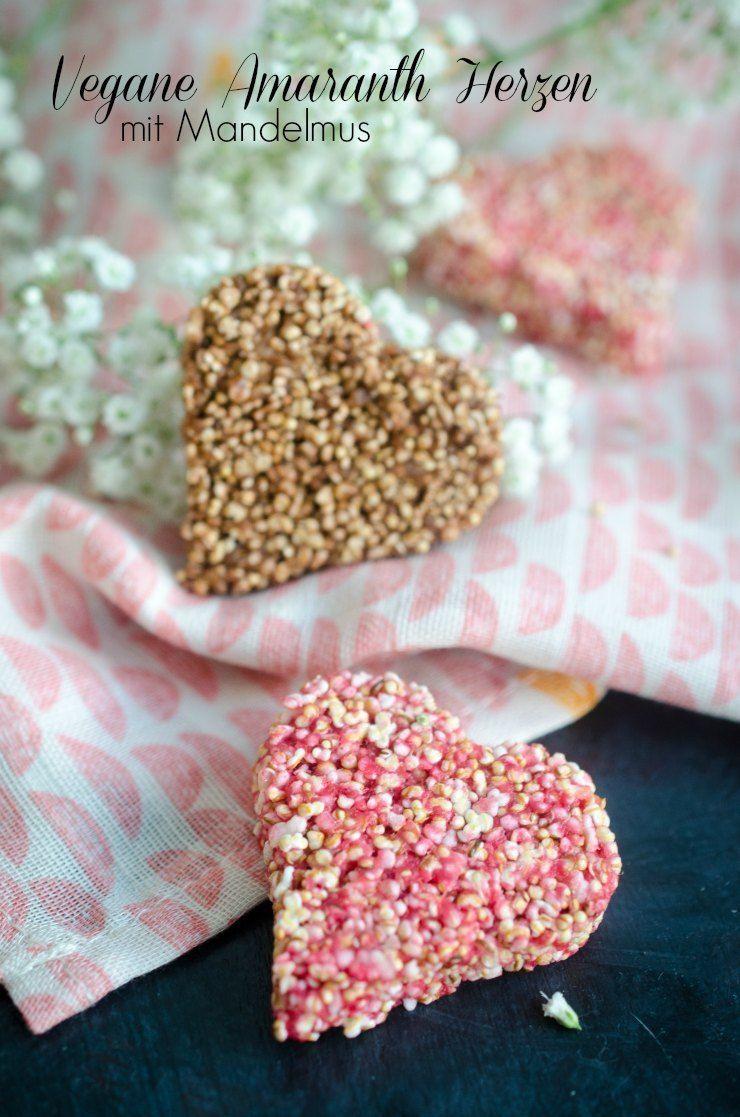 Rezept Süße Aaranmth-Herzen