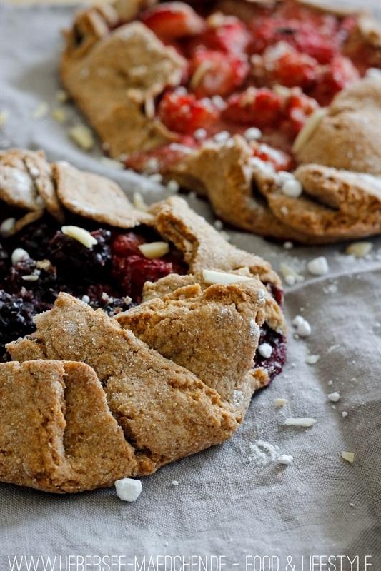 Rezept Süße Galettes mit Beeren