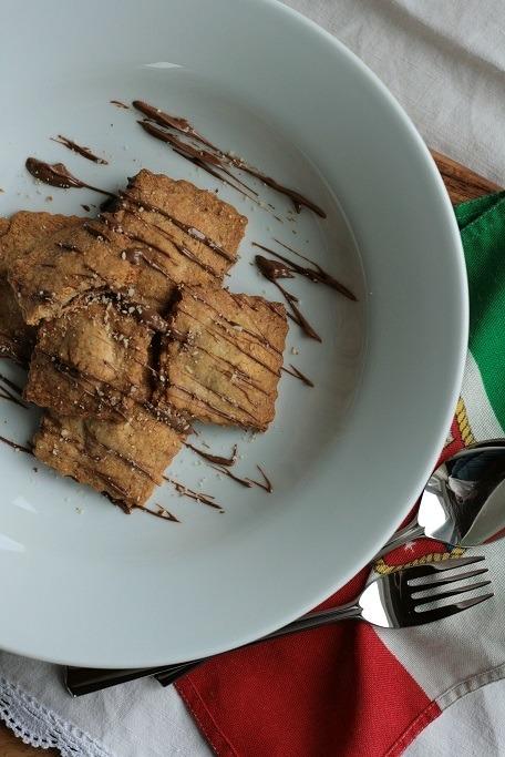 Rezept Süße Ravioli mit Nugat-Füllung