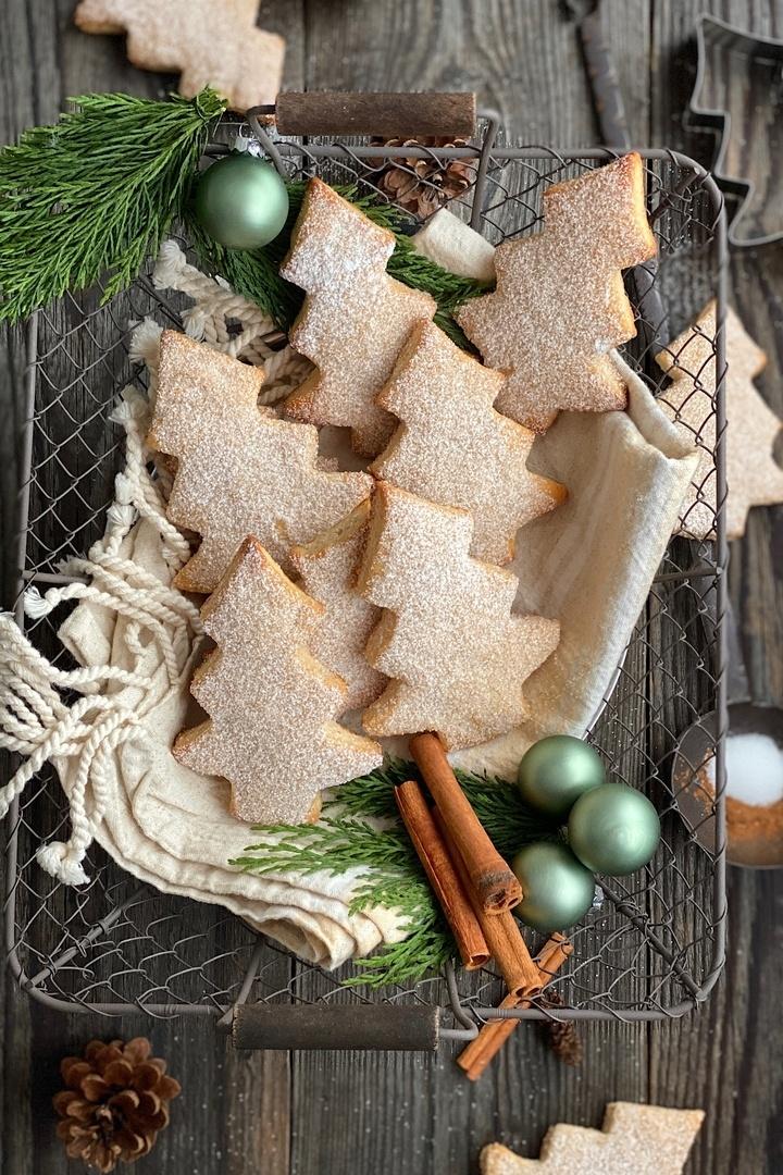 Rezept Süße Weihnachtstannenbäume
