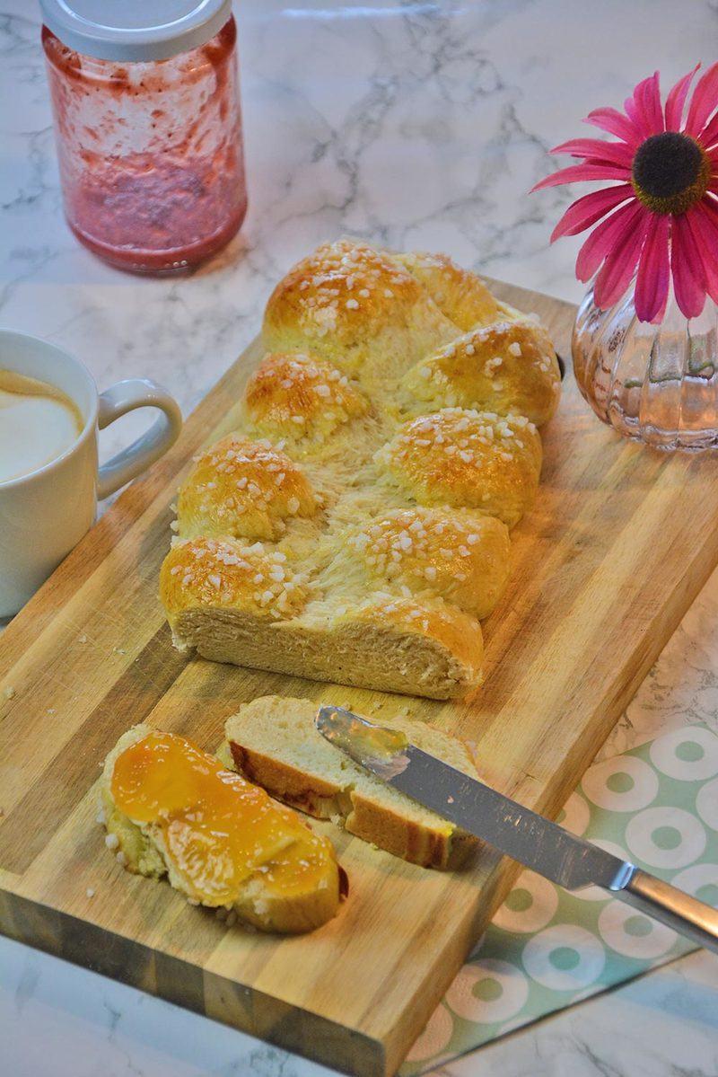 Rezept Süßer Butterzopf zu Ostern