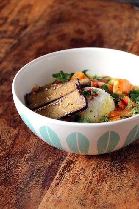 Rezept Süsskartoffel-Curry mit Seam-Tofu