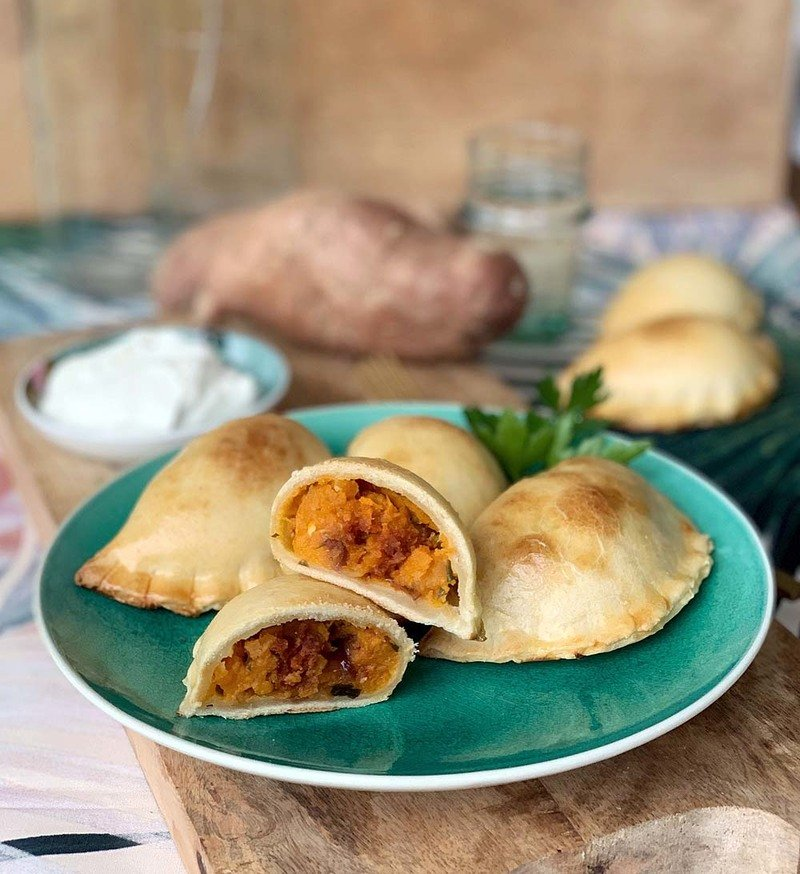 Rezept Süßkartoffel-Empanadas