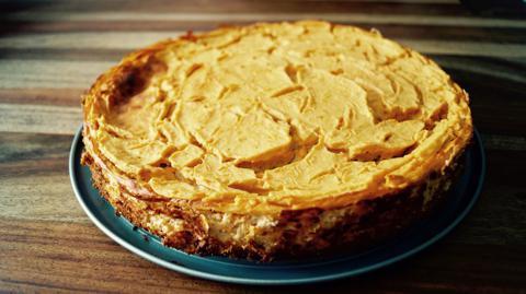 Rezept Süßkartoffel Käsekuchen