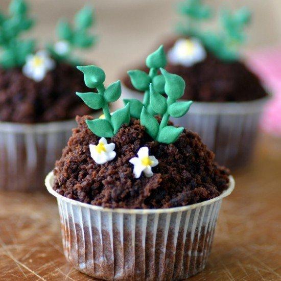 Rezept Süßkartoffel-Schoko-Cupcakes