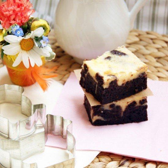 Rezept Swirl Chocolate Cheesecake Brownie
