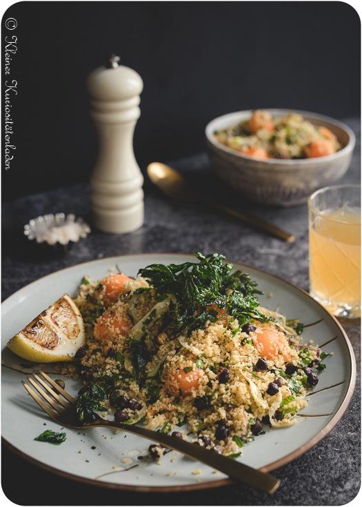 Rezept Taboulé mit Charentais-Melone und Fenchel