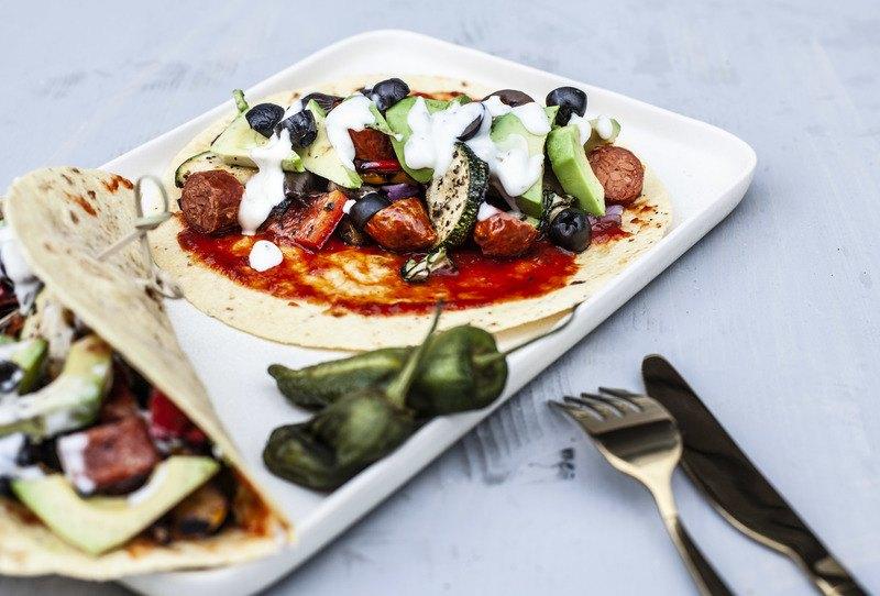Rezept Tacos mit Grillgemüse