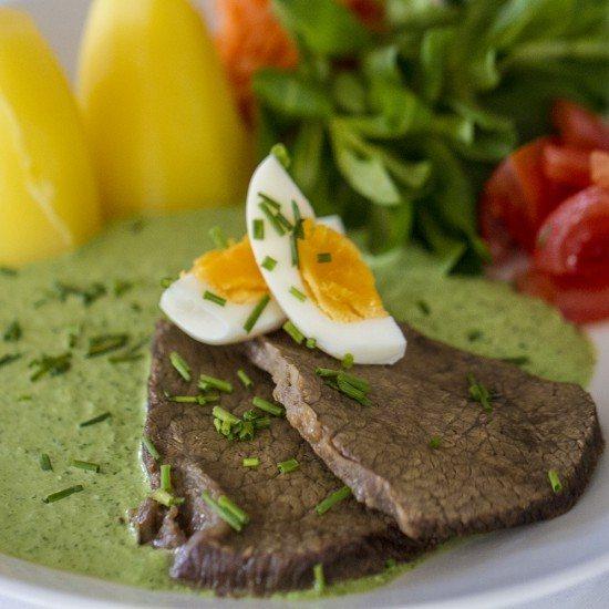Rezept Tafelspitz Sous-Vide mit Frankfurter Grüne Sauce