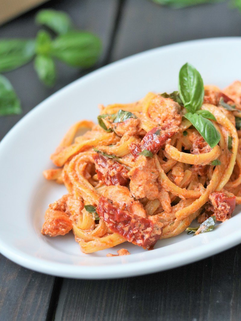 Rezept Tagliatelle mit Lachs & Ricotta