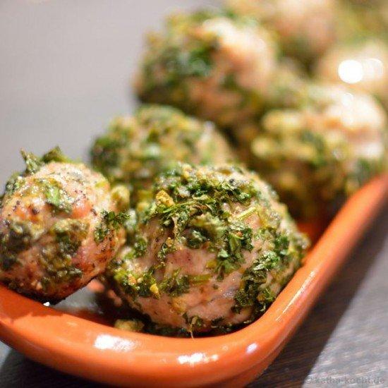 Rezept Tapas – Fleischbällchen im Kapernmantel