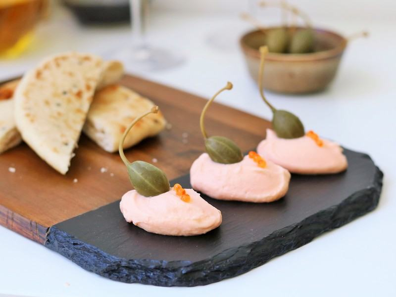Rezept Taramas – griechische Fischpaste