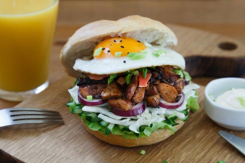 Rezept Teriyaki-Chicken-Burger