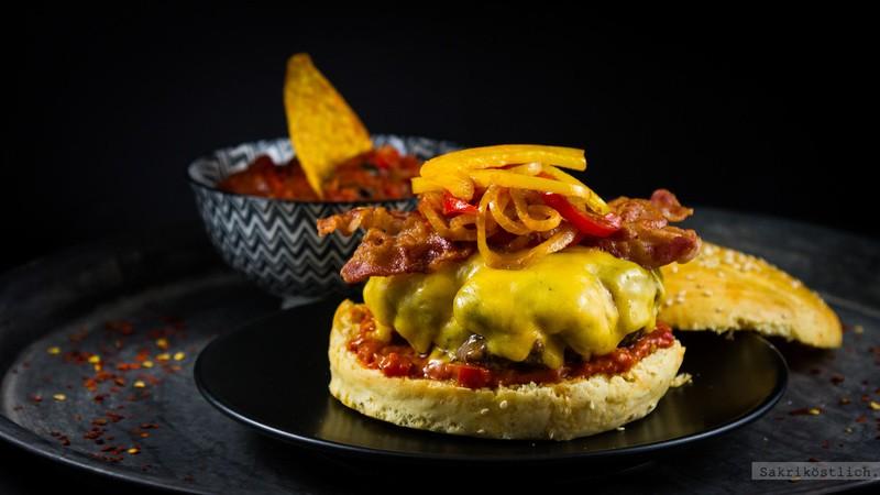 Rezept Tex-Mex-Burger