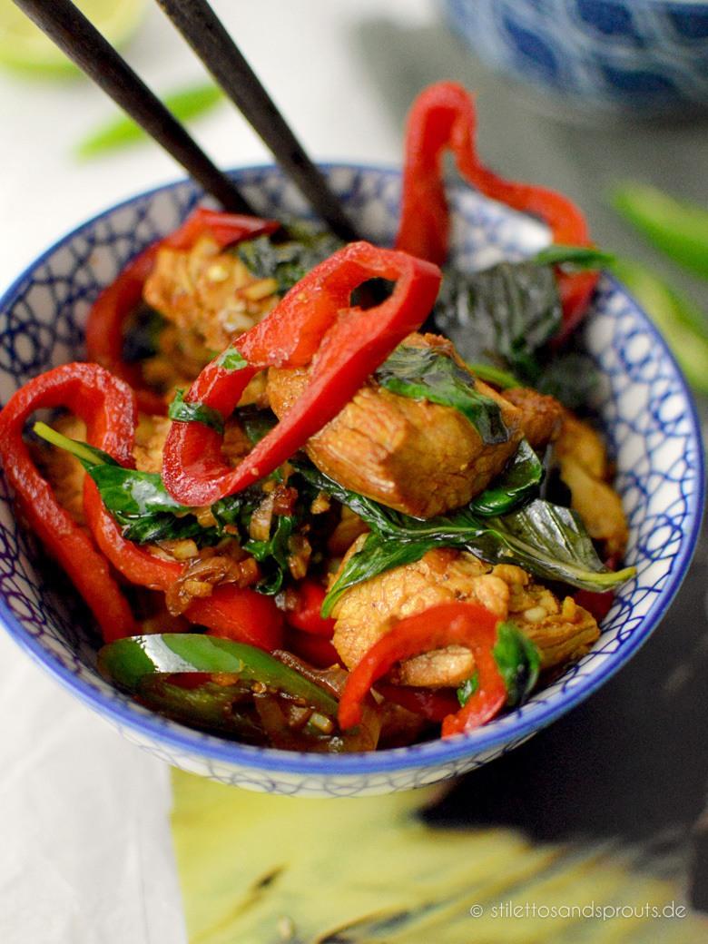 Rezept Thai Basil Chicken