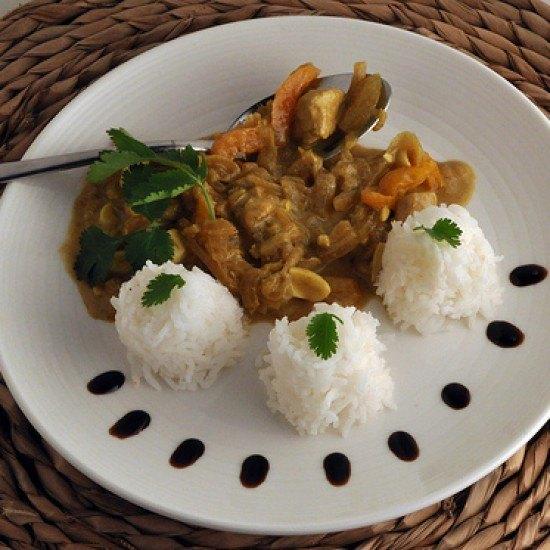 Rezept Thai Curry mit Ananas und Erdnuessen