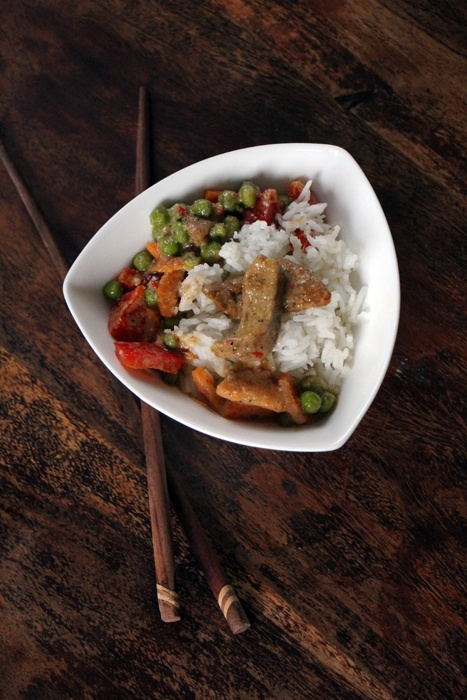 Rezept Thai-Curry mit Seitan