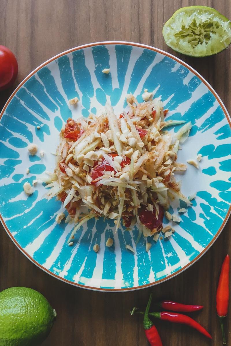 Rezept Thai Papaya Salat