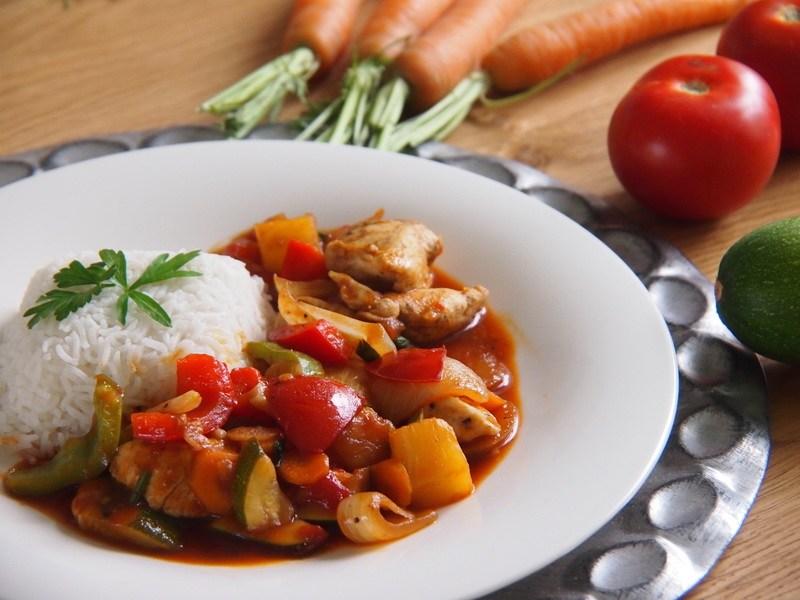 Rezept Thailändisches Huhn süß-sauer