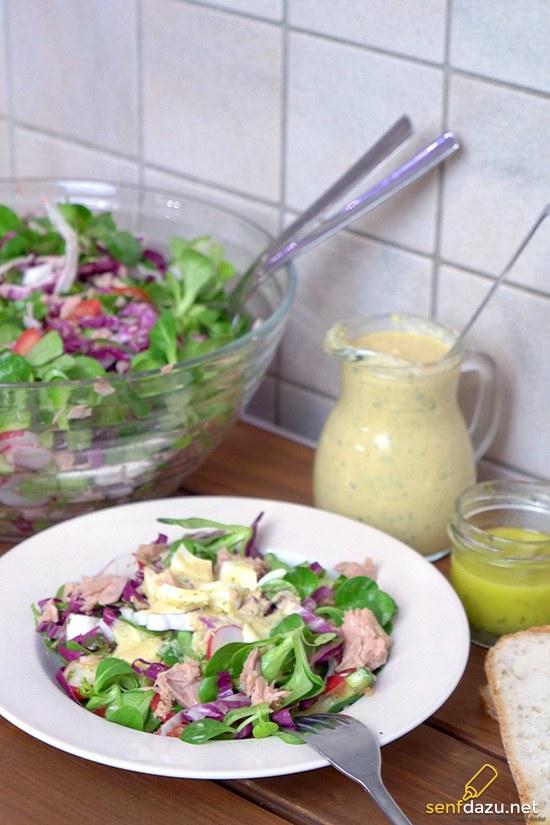 Rezept Thunfisch – Salat mit Resteverwertung