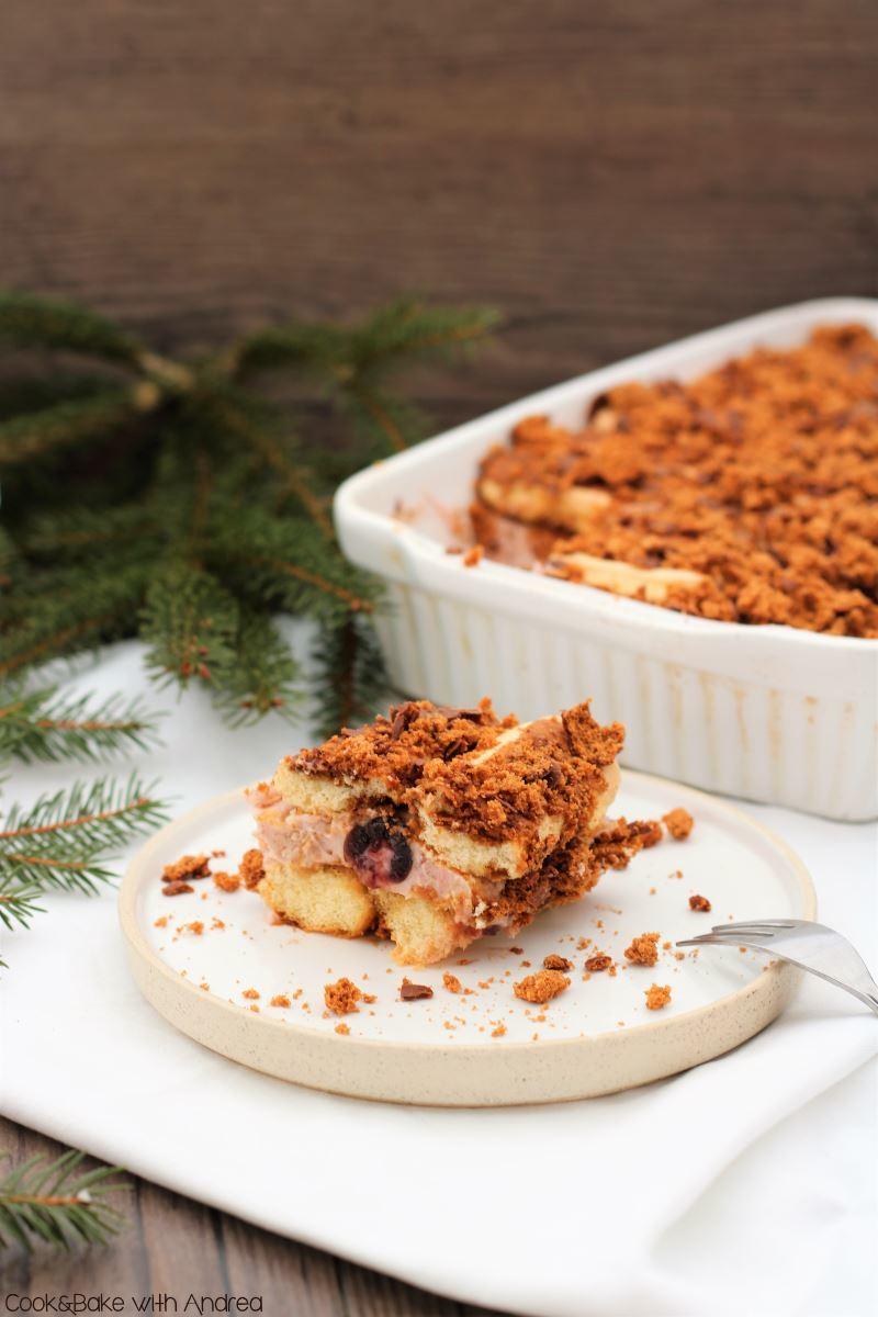 Rezept Tiramisu mit Amarena-Kirschen und Lebkuchen