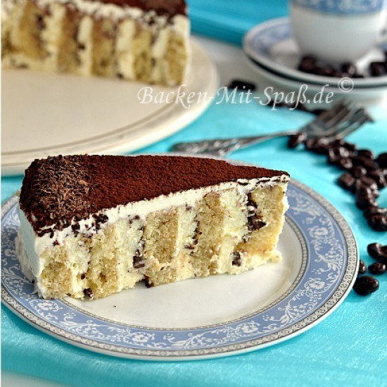 Rezept Tiramisu- Torte
