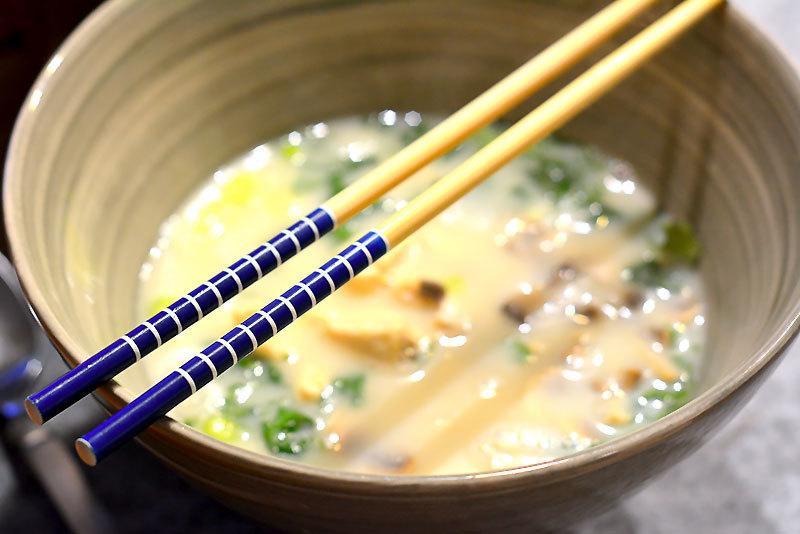 Rezept Tom Kha Gai Suppe